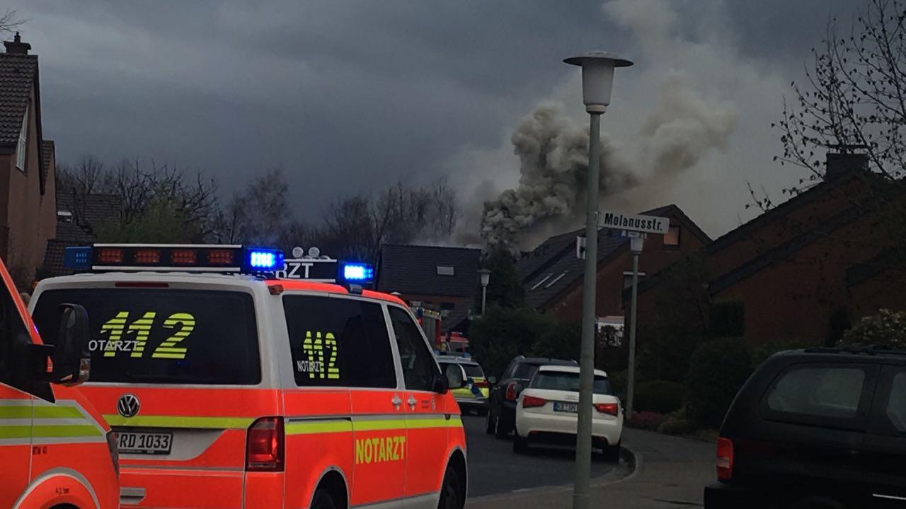 Dachstuhlbrand vom 11.02.2018  |  (C) Freiwillige Feuerwehr Fischeln (2018)
