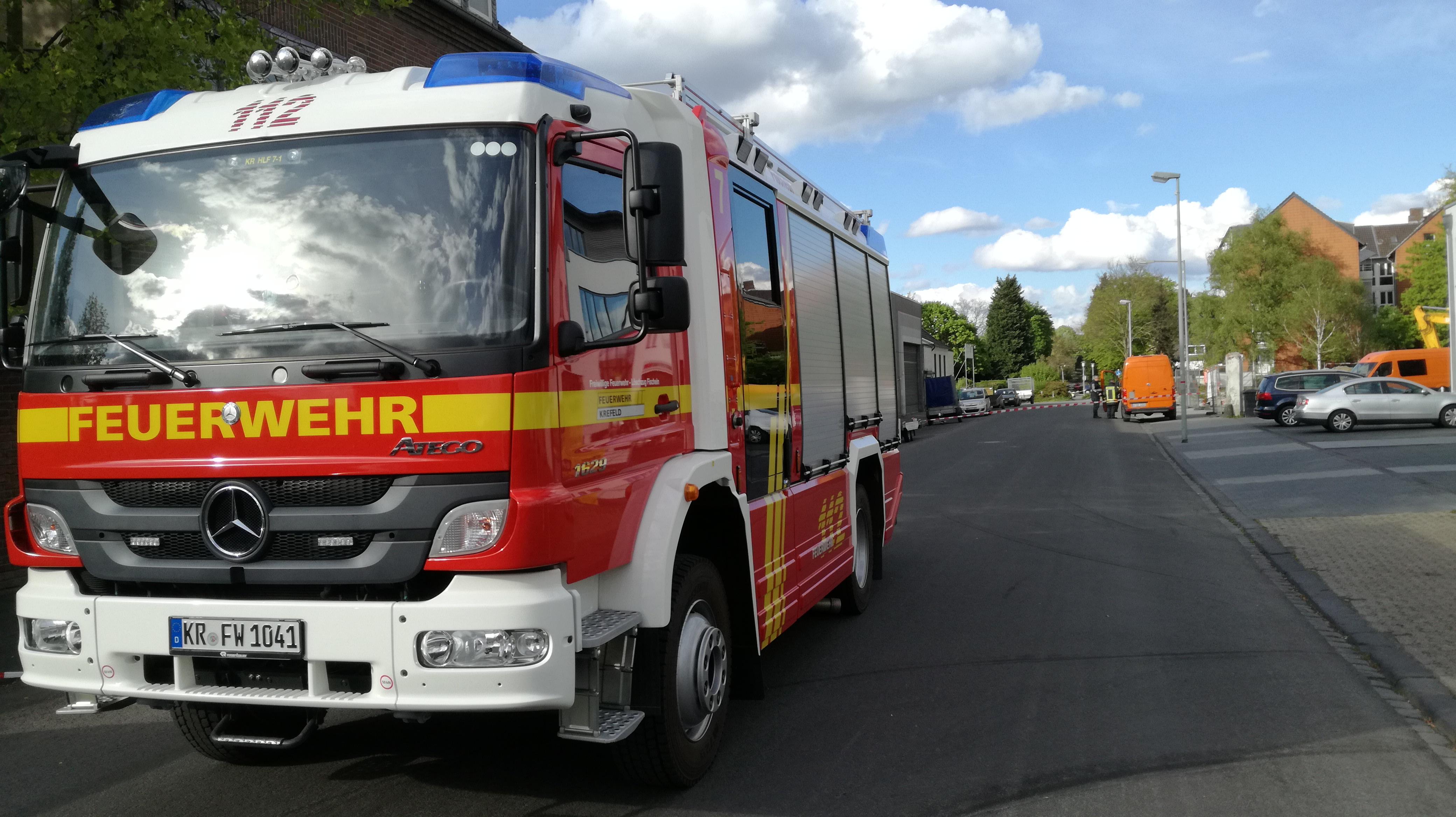 sonst. Hilfeleistung vom 25.04.2017     (C) Freiwillige Feuerwehr Fischeln (2017)