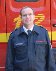 Portrait von Brandinspektor Burkhard Wißmanns