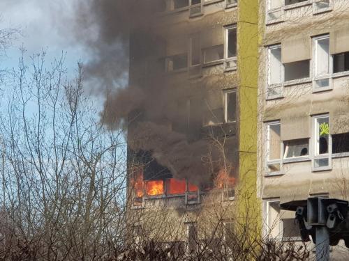 24.02.18 - Wohnungsbrand, Alte-Gladbacher-Str.